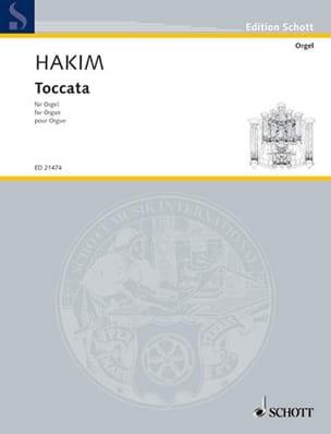 Naji Hakim - Toccata - Partition - di-arezzo.fr