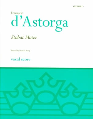 Emanuele D'ASTORGA - Stabat Mater - Sheet Music - di-arezzo.co.uk