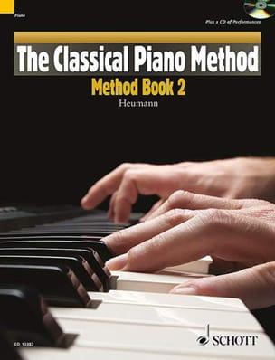Méthode de piano Volume 2 Hans-Günter Heumann Partition laflutedepan