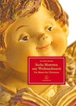 - Six Motets pour le Temps de Noël - Partition - di-arezzo.fr