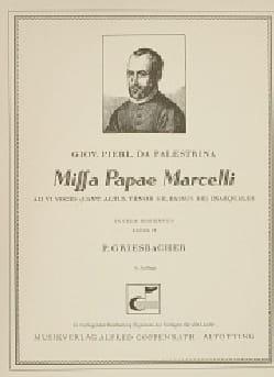 Giovanni Pierluigi da Palestrina - Missa Pape Marcelli - Partition - di-arezzo.fr