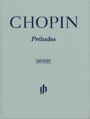 Préludes - Edition Reliée - CHOPIN - Partition - laflutedepan.com