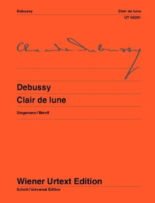 Clair de Lune DEBUSSY Partition Piano - laflutedepan