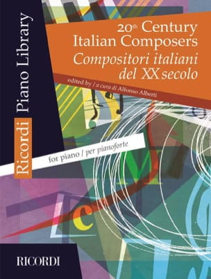 20th Century Italian Composers - Partition - laflutedepan.com