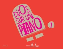 Duos sur un Piano Volume 1 - Partition - Piano - laflutedepan.com