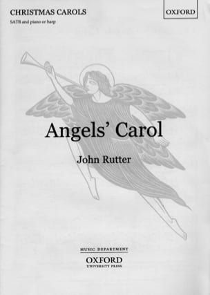 John Rutter - Angel's Carol. Mixed voices - Sheet Music - di-arezzo.com