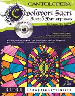 Capolavori Sacri. Soprano. Volume 1 - Partition - laflutedepan.com