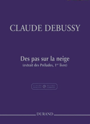 DEBUSSY - Footsteps on the snow - Sheet Music - di-arezzo.com