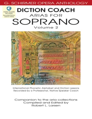 - Arias Diction Coach For Soprano Volume 2 Cd - Sheet Music - di-arezzo.com