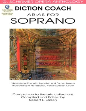 Diction Coach Arias For Soprano. Volume 1 - laflutedepan.com