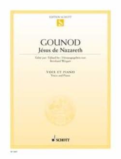 Jesus de Nazareth - Charles Gounod - Partition - laflutedepan.com