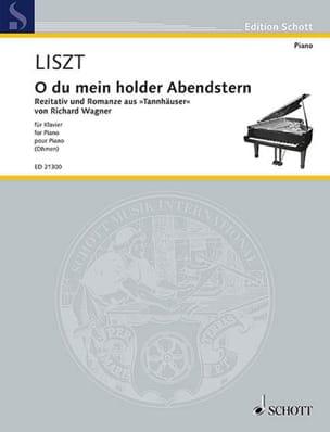 Franz Liszt - O Thou Beloved Evening Star - Partition - di-arezzo.fr