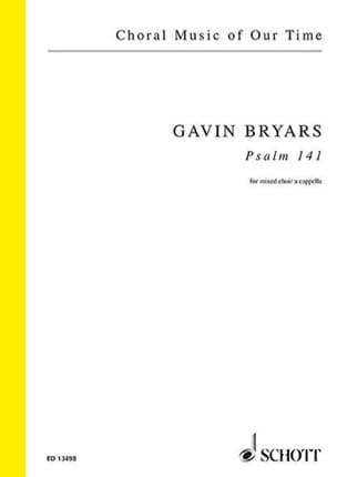 Psaume 141 - Gavin Bryars - Partition - Chœur - laflutedepan.com