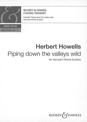 Piping Down The Valleys Wild - Herbert Howells - laflutedepan.com