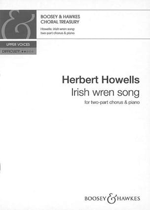 Herbert Howells - Irish Wren Song - Partition - di-arezzo.fr
