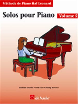 Kreader / Kern Jerome / Keveren - Solos Pour Piano Volume 5 - Partition - di-arezzo.fr