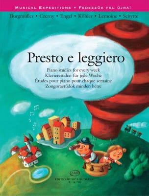 - Presto E Leggero - Sheet Music - di-arezzo.com