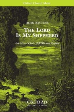 John Rutter - The Lord is my shepherd - Sheet Music - di-arezzo.co.uk