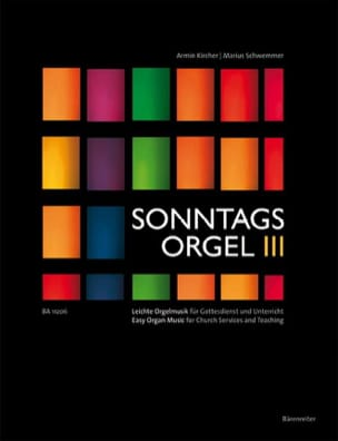 - Sonntagsorgel, Volume 3 - Arrangement of Chorales - Sheet Music - di-arezzo.com