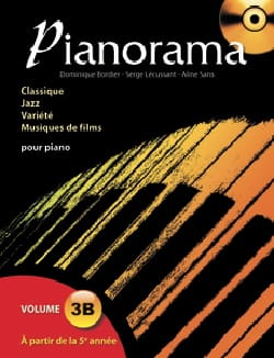 Pianorama 3B Partition Piano - laflutedepan