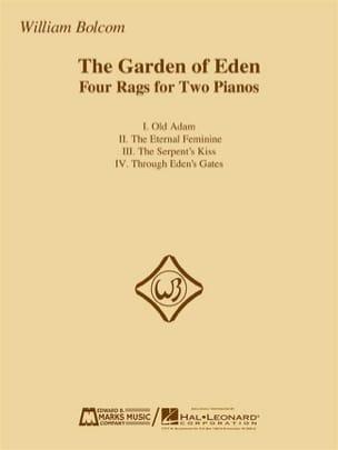 William Bolcom - The Garden Of Eden - Sheet Music - di-arezzo.co.uk