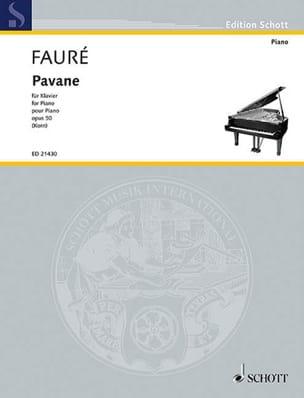 Gabriel Fauré - Pavane, Opus 50 - Partitura - di-arezzo.es