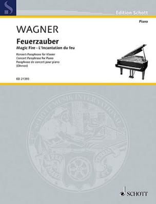 Richard Wagner - The Fire Incantation - Sheet Music - di-arezzo.co.uk