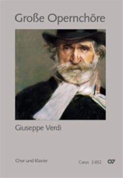 Grands Choeurs d' Opéra - VERDI - Partition - Chœur - laflutedepan.com
