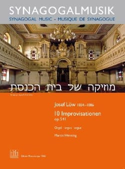 10 Improvisationen Op. 541 - Joseph Low - Partition - laflutedepan.com