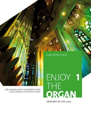 Enjoy the organ. Volume 1 Partition Orgue - laflutedepan