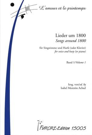 - Lieder Um 1800 Für Singstimme a Harfe Oder Klavier Band 1 - Noten - di-arezzo.de