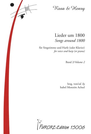 - Lieder Um 1800 For Singstimme Und Harfe Oder Klavier Band 2 - Sheet Music - di-arezzo.com