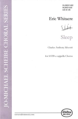 Sleep - Eric Whitacre - Partition - Chœur - laflutedepan.com