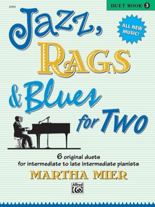 Jazz, Rags And Blues For Two vol.3 - Martha Mier - laflutedepan.com