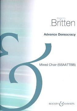 Advance Democracy - Benjamin Britten - Partition - laflutedepan.com