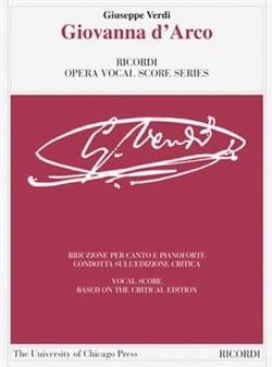 VERDI - Giovanna D'Arco. Critical Edition - Sheet Music - di-arezzo.com