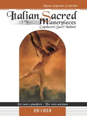 - Italian Sacred Masterpieces. Mezzo-soprano - Partition - di-arezzo.fr