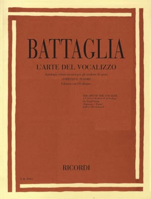L'arte Del Vocalizzo - Elio Battaglia - Livre - laflutedepan.com