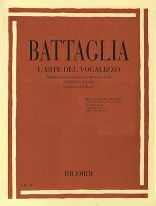 L'arte Del Vocalizzo Elio Battaglia Livre Pédagogie - laflutedepan