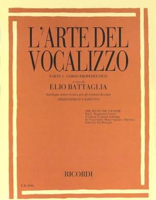 L'arte Del Vocalizzo. Mezzo - Elio Battaglia - laflutedepan.com