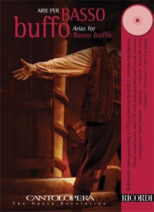 Arie Per Basso Buffo - Partition - Recueils - laflutedepan.com