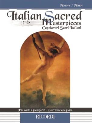 Italian Sacred Masterpieces. Ténor - Partition - laflutedepan.com