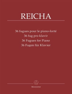 Antonin Reicha - 36 Fugues For Piano-forte - Sheet Music - di-arezzo.com