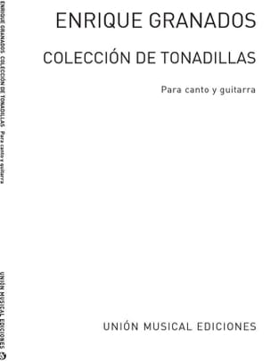 Collecion de Tonadillas Enrique Granados Partition laflutedepan
