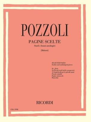 Ettore Pozzoli - Pagine Scelte - Partitura - di-arezzo.es