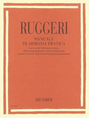 Marco Ruggeri - Manuale Di Armonia Pratica - Partition - di-arezzo.fr