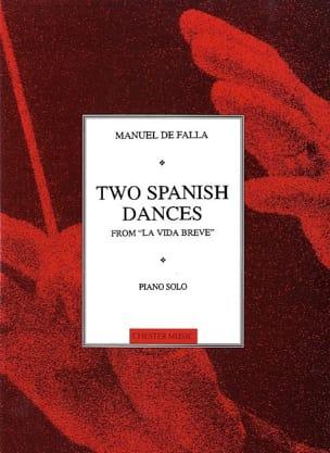 Manuel de Falla - Deux Danses Espagnoles de la Vie Breve - Partition - di-arezzo.fr