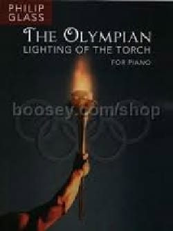 Philipp Glass - The Olympian - Lighting of the torch - Partition - di-arezzo.fr