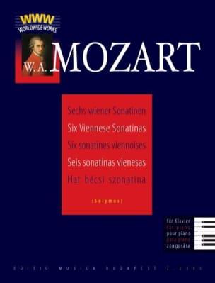 MOZART - 6 Viennese Sonatins - Sheet Music - di-arezzo.com