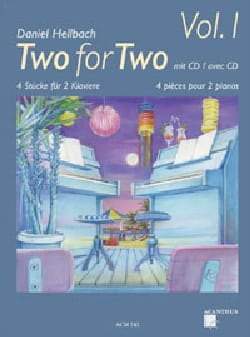 Daniel Hellbach - Two for two Volume 1 - Sheet Music - di-arezzo.co.uk